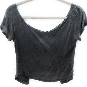Brandy Melville Distressed Top
